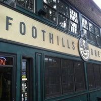 Photo taken at Foothills Brewing by olga r. on 7/27/2012