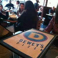 Photo taken at Dewey's Pizza by Sarah R. on 3/25/2012