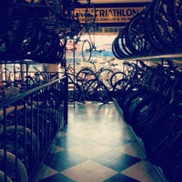 Photo taken at Roy's Sheepshead Cycle by Nina S. on 7/8/2012