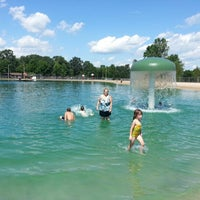 Photo taken at Kewanis Swim Pond by VazDrae L. on 8/7/2012