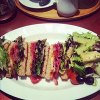 Photo taken at Patisserie Valerie by emily g. on 6/17/2012