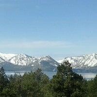 Photo taken at Harveys Lake Tahoe Resort & Casino by Christy O. on 3/10/2012