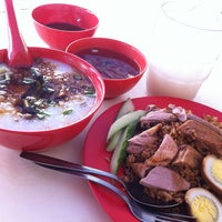 Photo taken at Soon Kee Duck Rice Eating House 顺记餐室 by Shirley K. on 7/25/2012