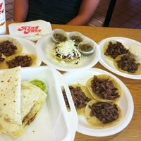 Photo taken at King Taco Restaurant by Junior M. on 2/11/2012