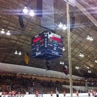 Photo taken at David S. Ingalls Rink by Adam G. on 3/5/2012