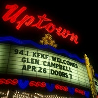 Photo taken at Uptown Theater by greg b. on 4/27/2012
