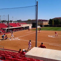 Photo taken at TTU - Rocky Johnson Field by Phillip K. on 4/1/2012