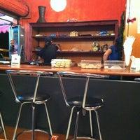Photo taken at Shawarma El Badawi by Alejandra V. on 2/5/2012