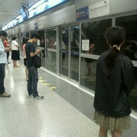 Photo taken at MRT Bang Sue (BAN) by Aiwarin C. on 7/27/2012