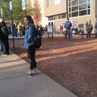 Photo taken at Science Building (College of Science and Mathematics) by Kayleigh W. on 4/23/2012