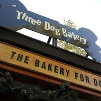 Photo taken at Three Dog Bakery by Michelle V. on 7/23/2012