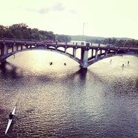Photo taken at Pfluger Pedestrian Bridge by Will F. on 5/24/2012