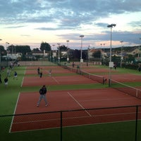 Photo taken at Sutton Lawn Tennis Club by Karen C. on 8/25/2012