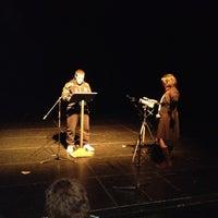 Photo taken at Teatro Vascello by Adriana Z. on 2/20/2012