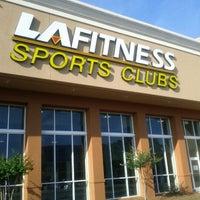 Photo taken at LA Fitness by Twyla W. on 6/7/2012