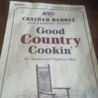Photo taken at Cracker Barrel Old Country Store by Noelle L. on 2/26/2012