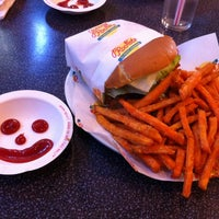 Photo taken at Johnny Rockets by Brian R. on 4/15/2012