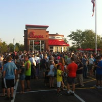 Photo taken at Chick-fil-A Schaumburg by Christy S. on 8/1/2012