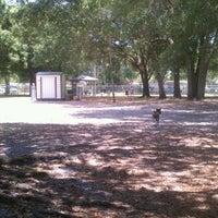 Photo taken at West Dog Park by Jennifer P. on 5/22/2012