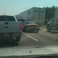 Photo taken at Interstate 20 by Natalie C. on 7/26/2012