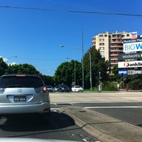 Photo taken at Princes Hwy (Rockdale Plaza Dr) by Susan on 4/2/2012