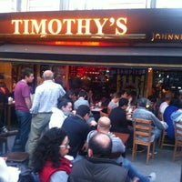 Photo taken at Timothy's by Mehmet on 7/31/2012