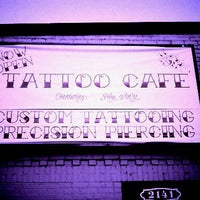 Photo taken at Tattoo Cafe by Eugene C. on 2/9/2012