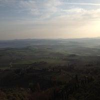 Photo taken at Dei Capitani Hotel Montalcino by La S. on 3/21/2012