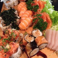 Photo taken at Mori Sushi by Hambúrguer c. on 8/17/2012