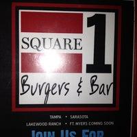 Photo taken at Square 1 Burgers & Bar by Lisa N. on 2/11/2012
