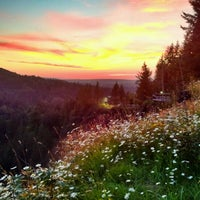 Photo taken at Snoqualmie Falls by Allister R. on 7/17/2012