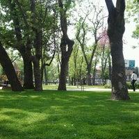 Photo taken at Millet Parkı by Umut A. on 5/4/2012
