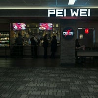 Photo taken at Pei Wei Asian Diner by Justin on 3/22/2012