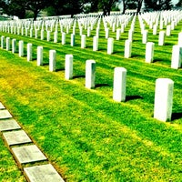 Photo taken at Fort Rosecrans National Cemetery by Scott R. on 5/26/2012