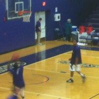 Photo taken at Merkert Gym/Student Center - Stonehill College by JP K. on 2/26/2012