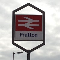 Photo taken at Fratton Railway Station (FTN) by Cassia M. on 3/10/2012