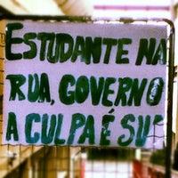 Photo taken at Aquário UTFPR by Davi M. on 6/15/2012