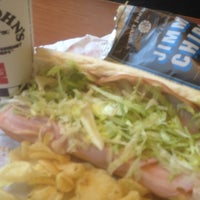 Photo taken at Jimmy John's by Dwayne C. on 6/8/2012
