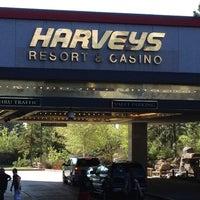 Photo taken at Harveys Lake Tahoe Resort & Casino by Candi W. on 5/20/2012