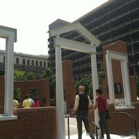 Photo taken at The President's House Site by Kyle S. on 7/16/2012