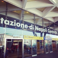 Photo taken at Napoli Centrale Railway Station (INP) by Fabiana A. on 7/9/2012
