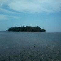 Photo taken at Pulau Dutungan by riiani y. on 9/10/2012