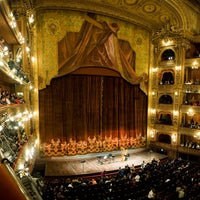 Photo taken at Teatro Colón by VacazionaViajes on 8/30/2012