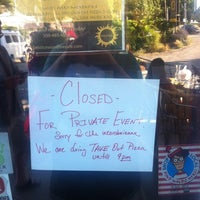 Photo taken at Solstice Wood Fire Cafe by Research Cat on 7/14/2012