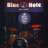 Photo taken at Blue Note by Rossana R. on 3/1/2012