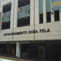 Photo taken at Estacionamiento Doña Fela by Tomás S. on 6/30/2012