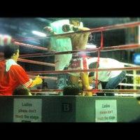 Photo taken at Lumpinee Boxing Stadium by karim n. on 2/12/2012