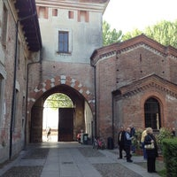 Photo taken at Abbazia di Chiaravalle by Márcio A. on 4/9/2012