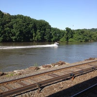 Photo taken at Metro North - Marble Hill Train Station by Victoria G. on 5/31/2012