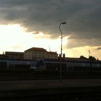 Photo taken at Gare SNCF de Roanne by Antoine R. on 5/28/2012